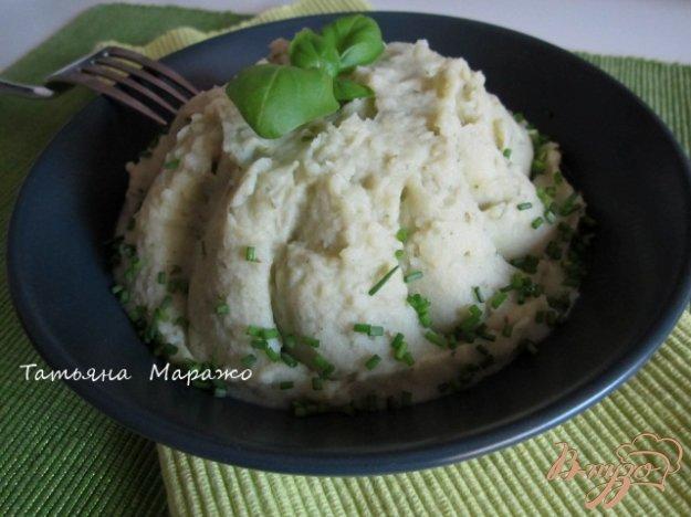 Рецепт Картофельное пюре с базиликом