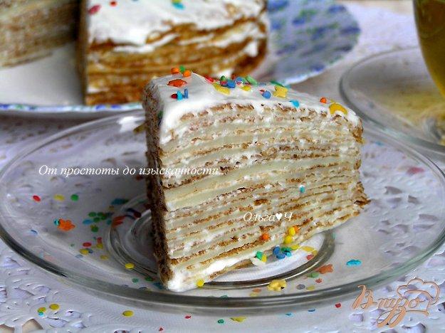 Рецепт Бабушкины блинчики и Блинный торт