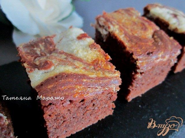 Фото приготовление рецепта: Брауни.. немножко мраморные шаг №8