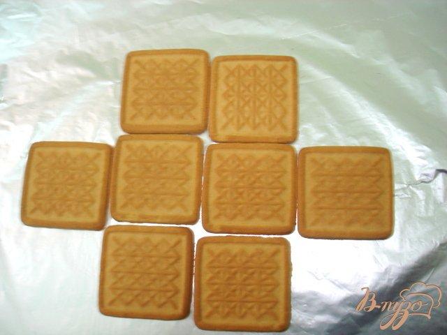 Фото приготовление рецепта: Пирожное без выпечки шаг №3