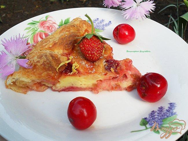 Фото приготовление рецепта: Ягодный пирог шаг №5