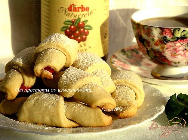 Рецепт Печенье с брусничным соусом