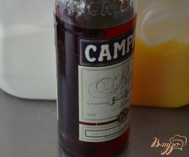 Фото приготовление рецепта: Коктейль с Кампари шаг №1