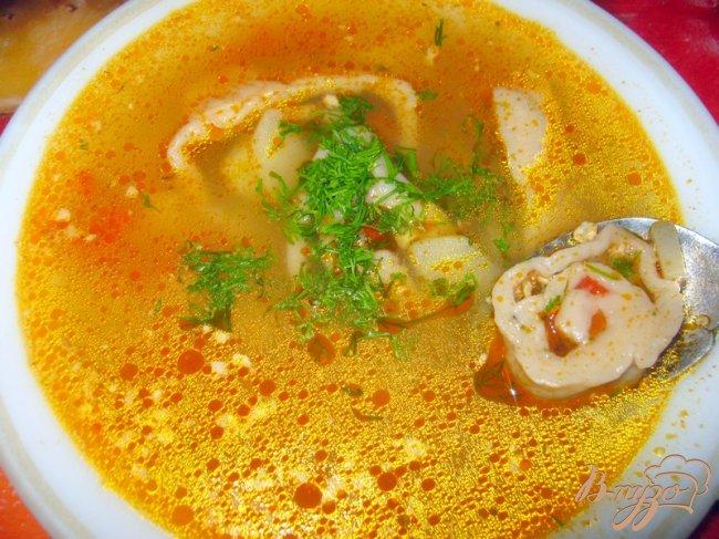 Фото приготовление рецепта: Суп с