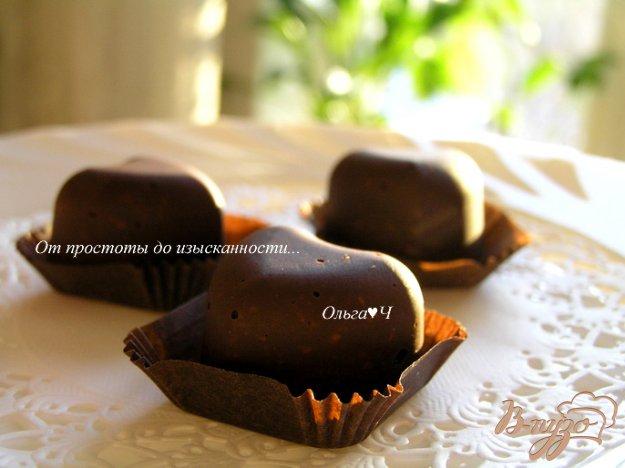 Рецепт Шоколадные конфеты с чесноком