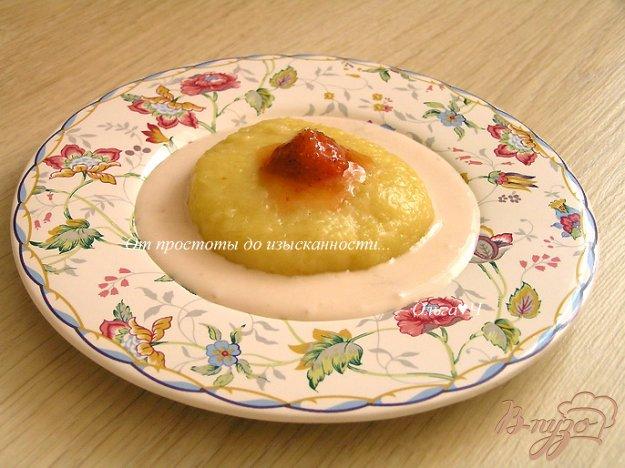 Рецепт Сырники на пару с кускусом и клубничным соусом