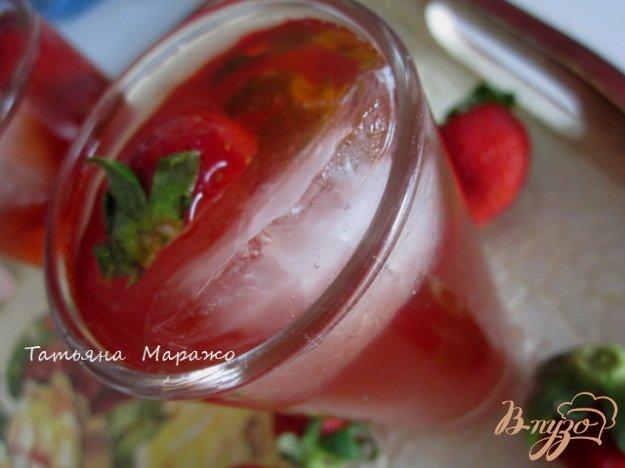 Рецепт Холодный клубничный чай с розмарином