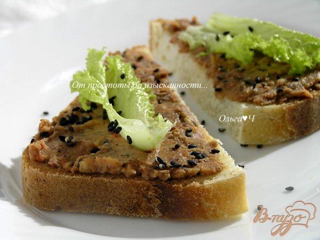 Рецепт Паштет из фасоли с кунжутом