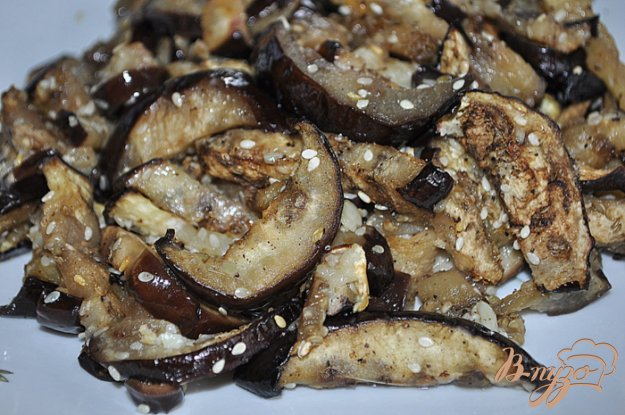 Рецепт Баклажан с кунжутным семенем