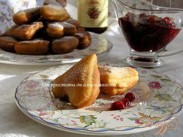 Рецепт Пончики с брусникой