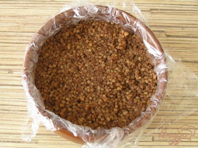 Фото приготовление рецепта: Шоколадный кускус с теплым манго и мятой. шаг №4