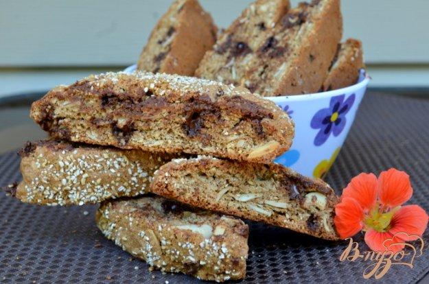 Рецепт Шоколадное бискотти