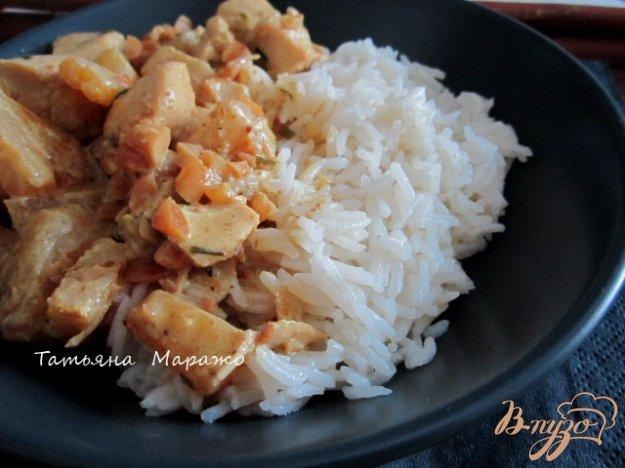 Рецепт Карри из курицы с ананасом