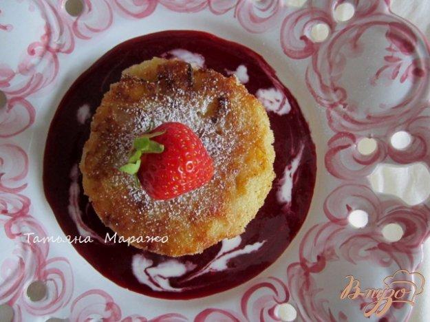 Рецепт Сладкие рисовые биточки с фруктами