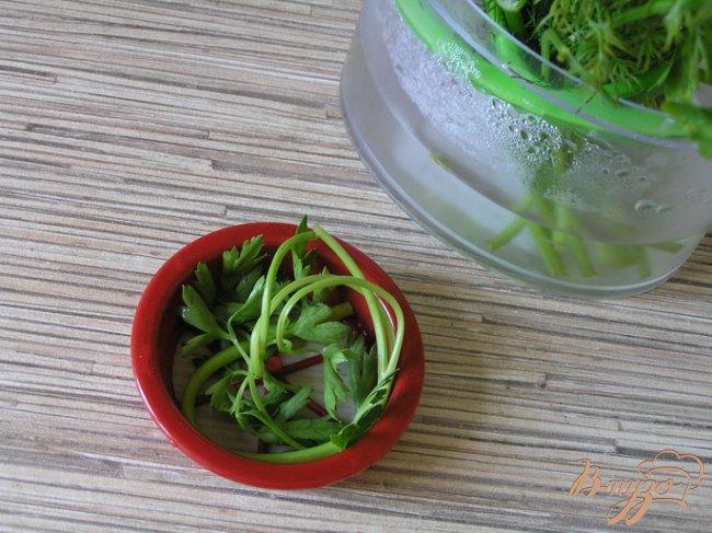 Фото приготовление рецепта: Салат с пшеном, тунцом и морепродуктами шаг №1