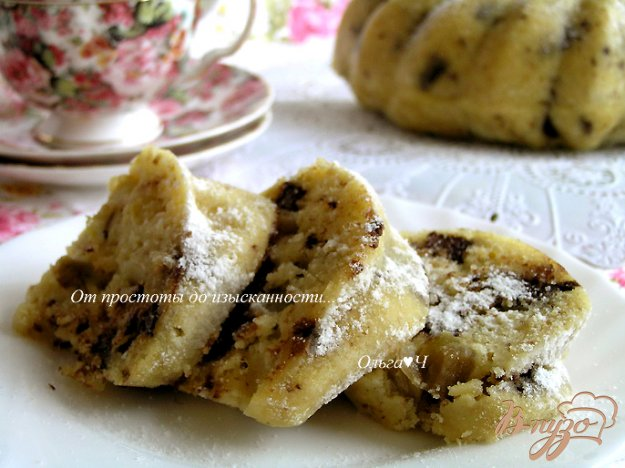 Рецепт Кекс с овсяными отрубями, манго и темным шоколадом