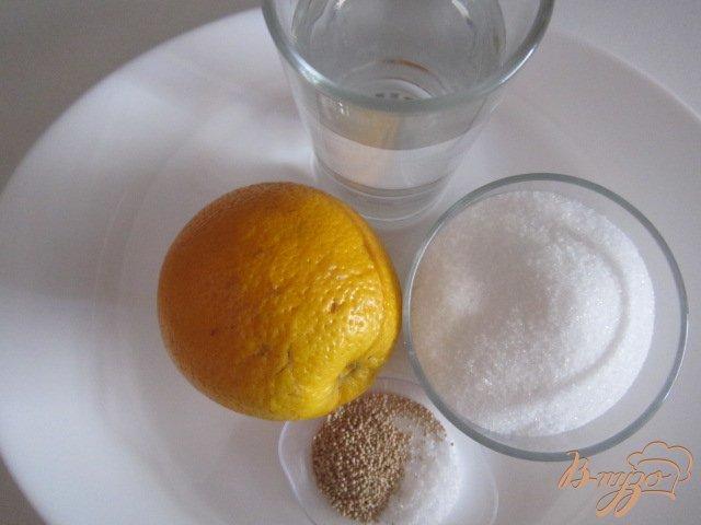 Фото приготовление рецепта: Апельсиновый квас шаг №1