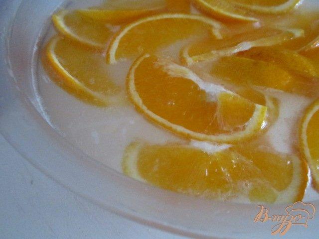 Фото приготовление рецепта: Апельсиновый квас шаг №3
