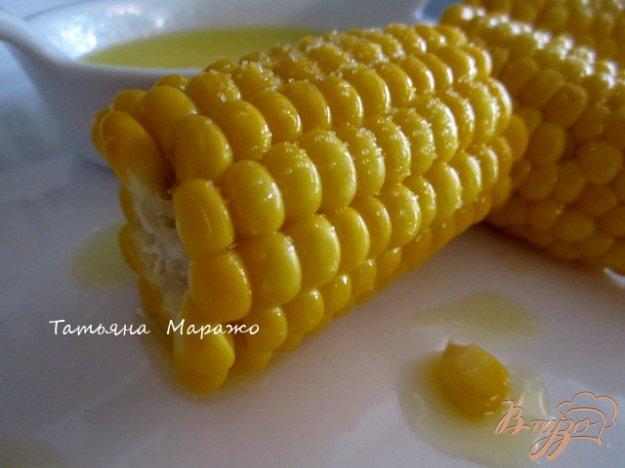 Рецепт Отварная кукуруза со сливочным маслом