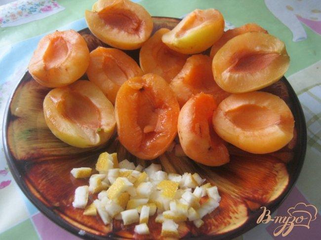 Фото приготовление рецепта: Перевернутый пирог с абрикосами шаг №1