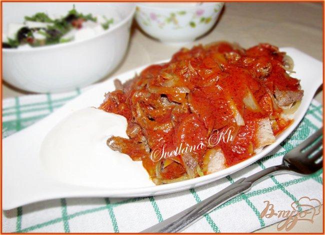 Фото приготовление рецепта: Искандер-кебаб шаг №8
