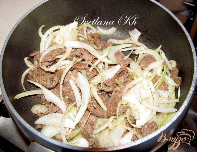 Фото приготовление рецепта: Искандер-кебаб шаг №4
