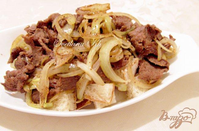 Фото приготовление рецепта: Искандер-кебаб шаг №7