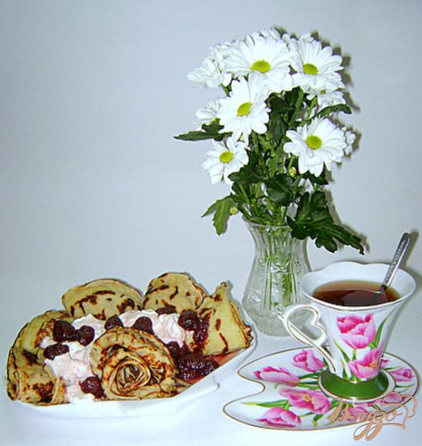 Рецепт Блинчики дрожжевые