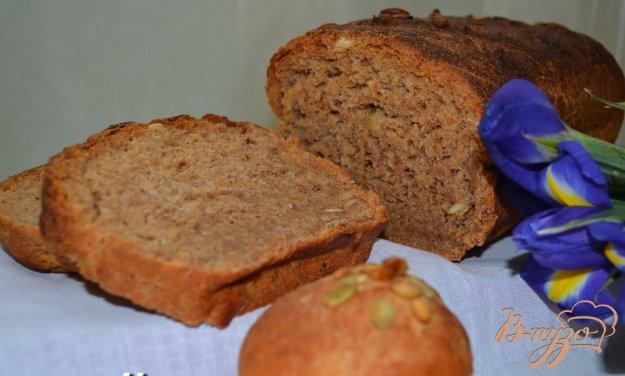 Рецепт Хлеб с фасолью