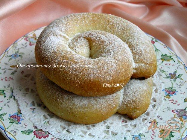 Рецепт Энсаймада - булочки-улитки