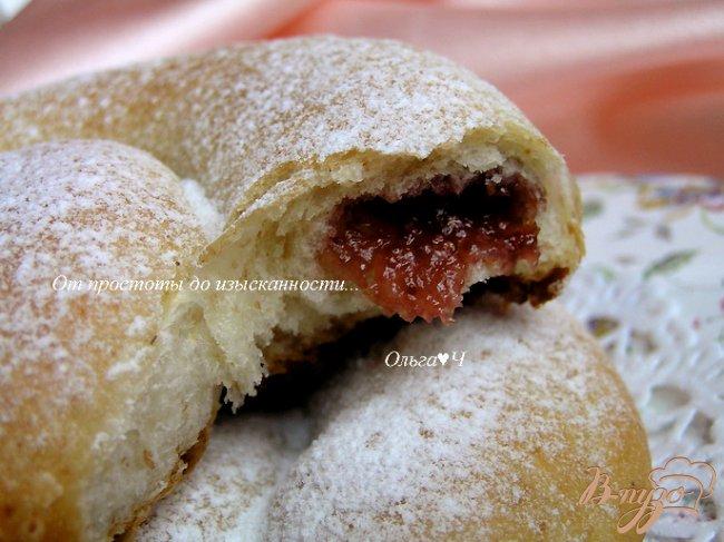 Фото приготовление рецепта: Энсаймада - булочки-улитки шаг №16