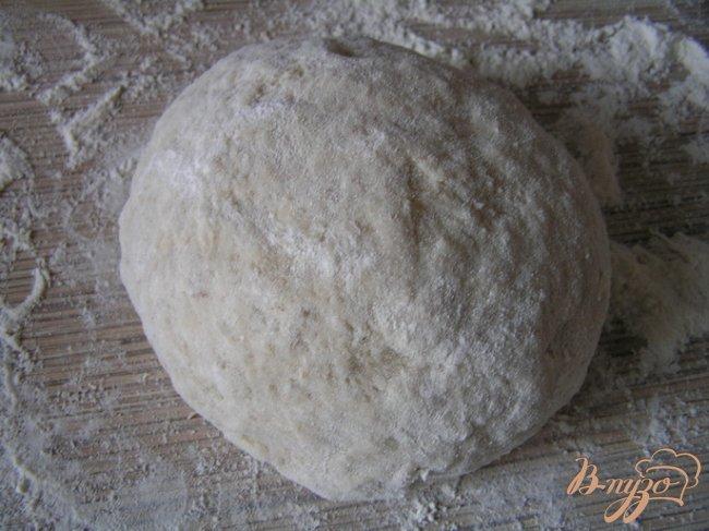 Фото приготовление рецепта: Энсаймада - булочки-улитки шаг №7