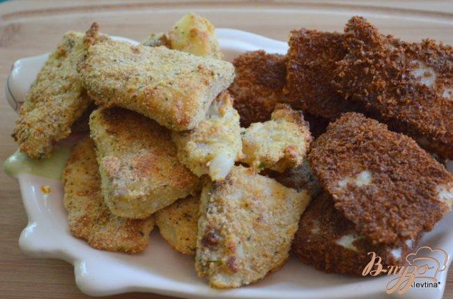 Фото приготовление рецепта: Рыбные палочки шаг №4