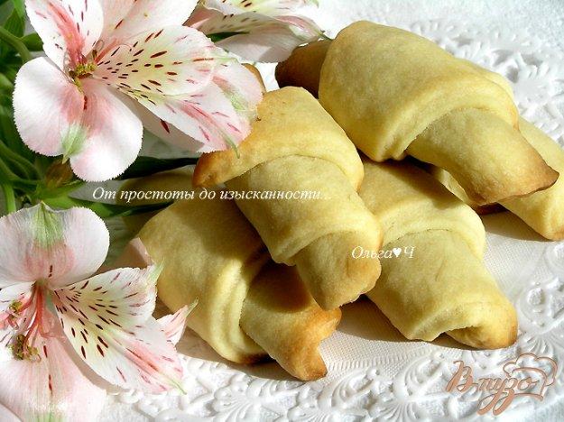 Рецепт Печенье-круассаны с шоколадом