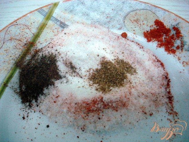 Фото приготовление рецепта: Сало из банки шаг №2