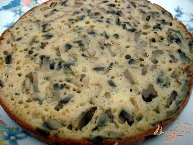 Фото приготовление рецепта: Закусочный торт грибной шаг №4
