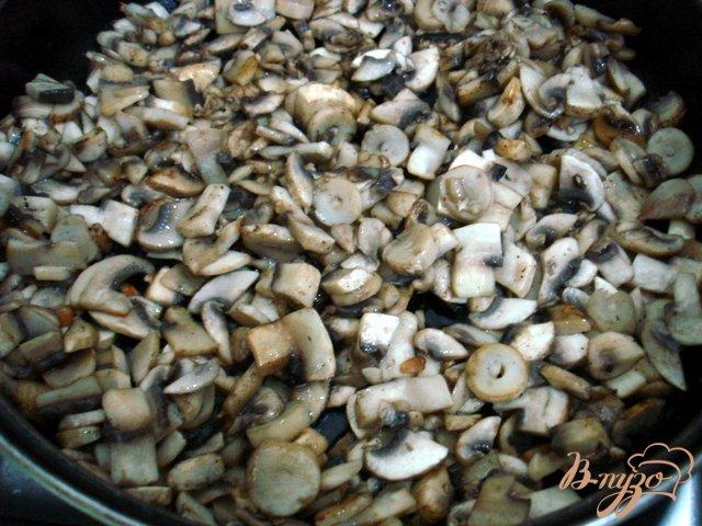 Фото приготовление рецепта: Закусочный торт грибной шаг №1