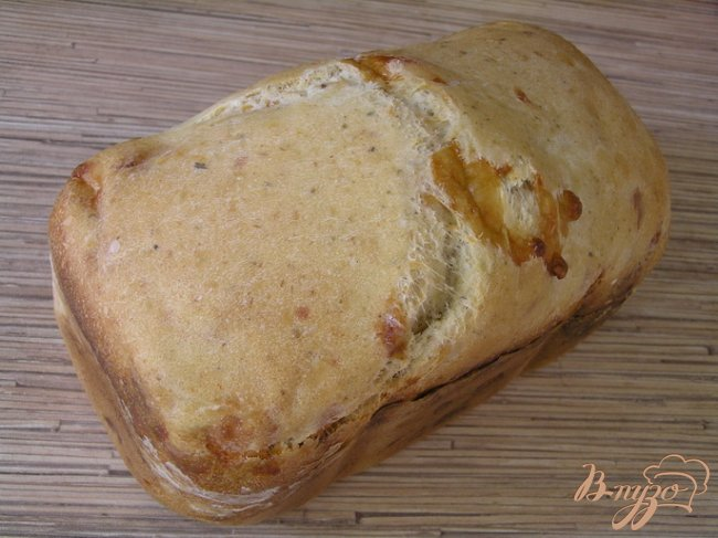 Хлеб с сыром и орегано