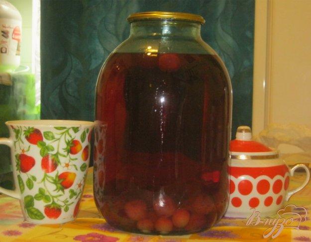 Рецепт Компот из вишни с черешней