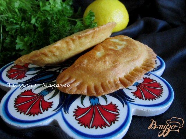 Фото приготовление рецепта: Пирожки по-восточному ( 1 вариант) шаг №14