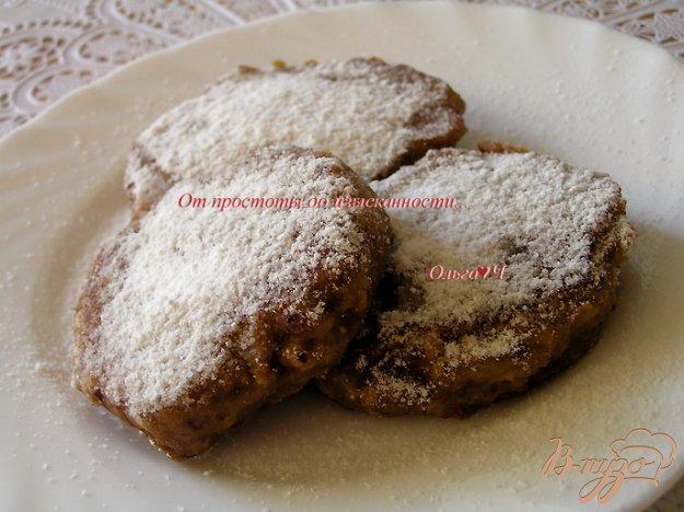 фото рецепта: Яблочно-черешневые оладьи