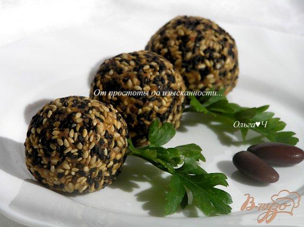 Рецепт Паштет-закуска из фасоли в кунжутной панировке
