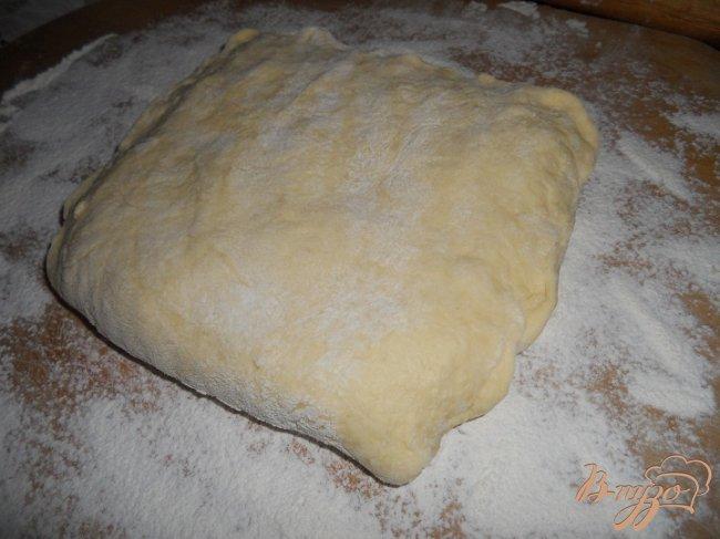 Фото приготовление рецепта: Слоенное тесто своими руками шаг №5