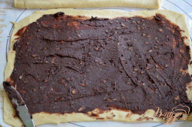 Фото приготовление рецепта: Шоколадный сладкий рулет по-мексикански шаг №2