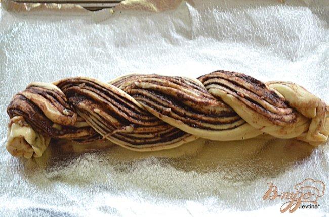 Фото приготовление рецепта: Шоколадный сладкий рулет по-мексикански шаг №5
