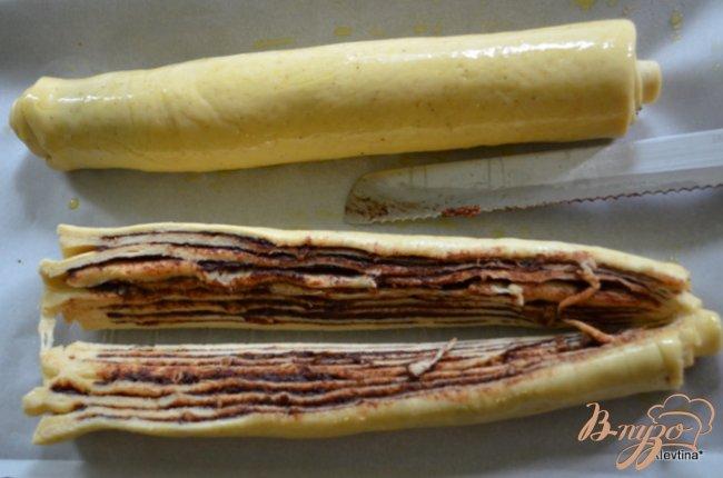 Фото приготовление рецепта: Шоколадный сладкий рулет по-мексикански шаг №4