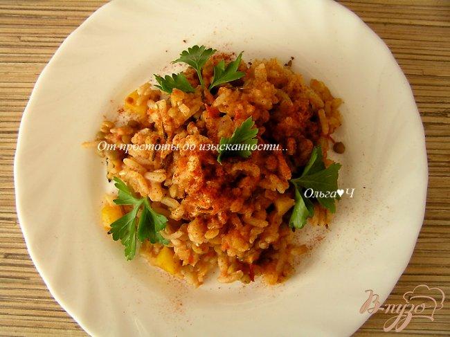 Фото приготовление рецепта: Праздничная муджадара шаг №10