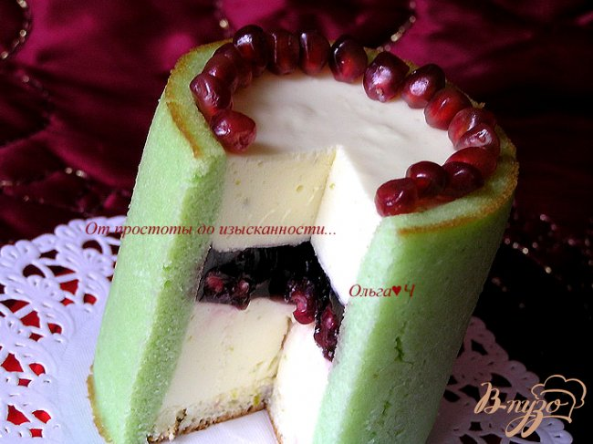 Фото приготовление рецепта: Пирожное