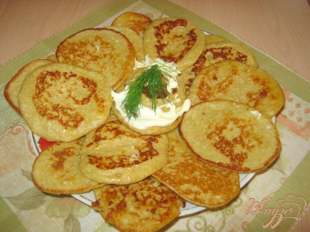 Рецепт Капустные оладушки из ржаной муки