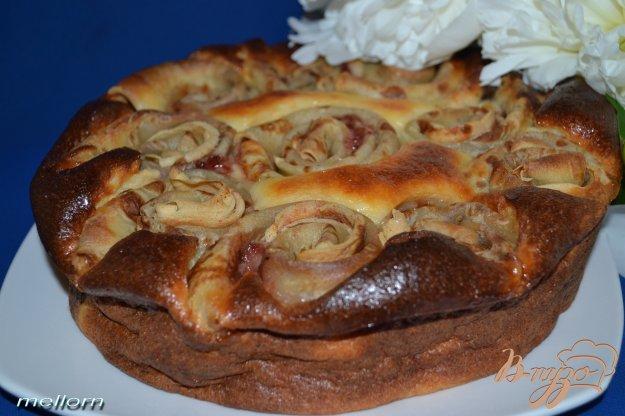 Рецепт Пирог творожный с блинами